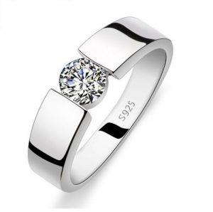 Zilveren Ring - Zirkonia
