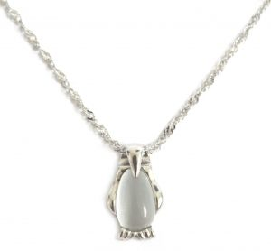 Pinguin Ketting - Cat´s Eye