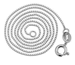 venetiaanse zilver ketting