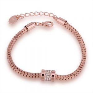 Venetiaanse Armband – Rosé Verguld