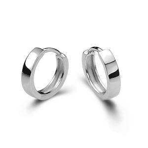 Zilveren Creolen - Oorringen Zilver - Oorbellen