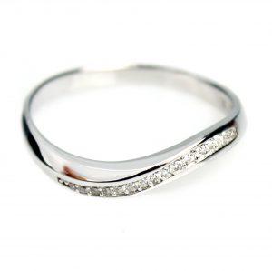 Zilveren Ring-Gerhodineerd-Zirkonia