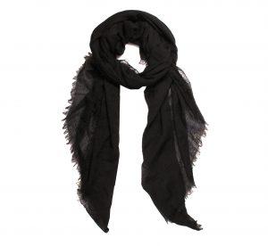 Dames Sjaal - Zwart - XXL Sjaal