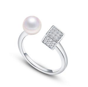 Zilveren Ring - Zoetwater Parel