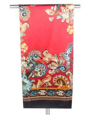 Rode Dames Sjaal 90 x 90cm