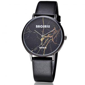 Zwart Design Horloge