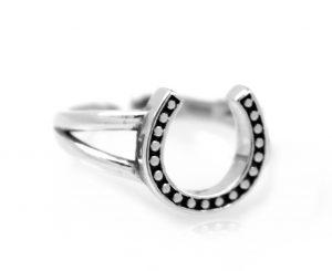 Zilveren Ring - Hoefijzer