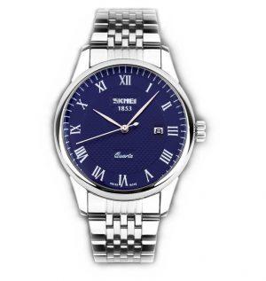 Stalen Heren Horloge - Polshorloge Mannen - Blue