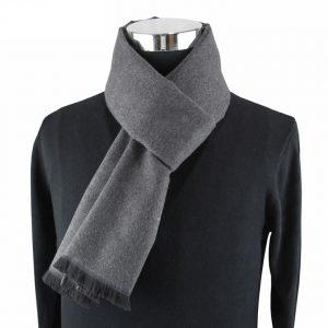 Herensjaal - Silver Grey - Shawl voor Mannen