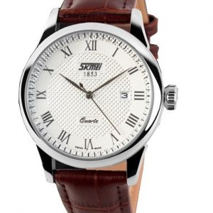 Klassiek Heren Horloge - Leren Band