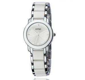 Wit Dames Horloge - Schakelband