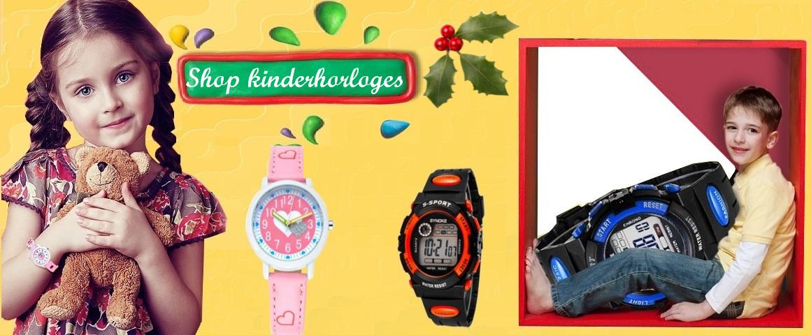 kinderhorloge, sporthorloge kinderen, horloge kids, horloge jongens, horloge meisjes