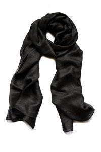 Luchtige Dames Sjaal - Zwart