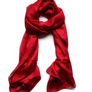 Luchtige Dames Sjaal – Rood