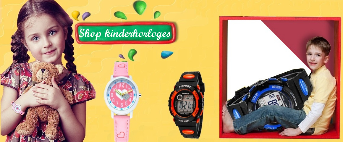 kinderhorloges, horloge meisjes, horloge jongens