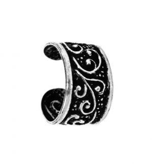Zilveren Oorring - Oorclip