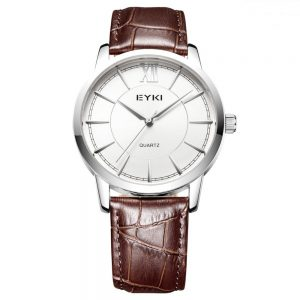 Minimalistisch Heren Horloge - Lederen Band