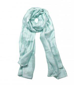 Luchtige Dames Sjaal - Zilverblauw