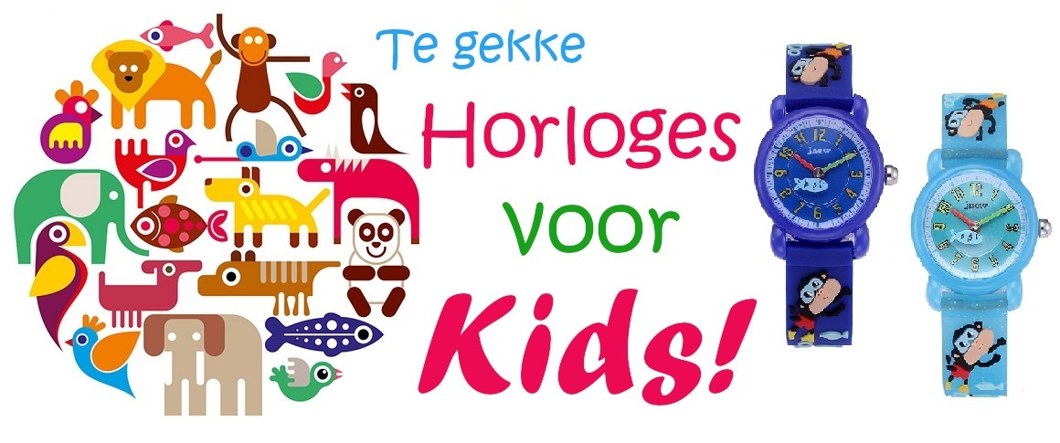 kinderhorloges, horloges kids, meisjeshorloges, jongenshorloges