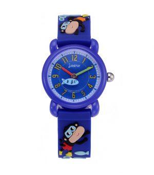 Kinderhorloge Aapjes – 3D Watch – Donkerblauw