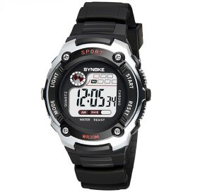 Sportief Kinderhorloge - Digital Kids Watch - Silver