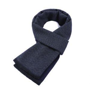 Blauew herensjaal - mannensjaal