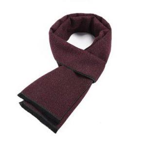 Rode heren sjaal - mannensjaal