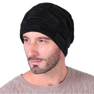 Muts Heren - Beanie - Zwart - One Size