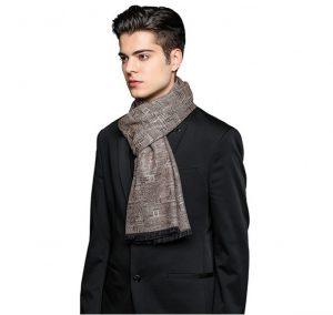 Wintersjaal - warme sjaal - mannen sjaal - zachte sjaal