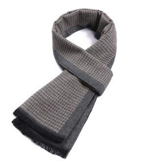 Wintersjaal - warme sjaal - mannen sjaal