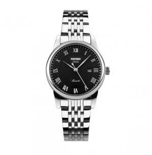 Dameshorloge - zilveren horloge - quartz horloge