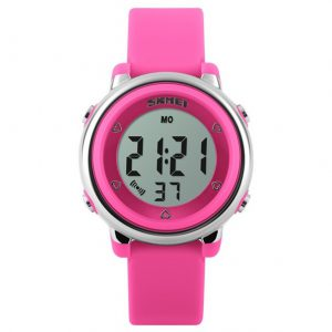 Digitaal Kinderhorloge - LED Display - Kids Watch - Roze