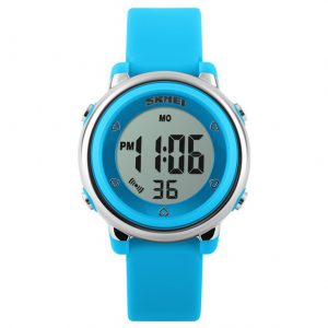 Digitaal Kinderhorloge - LED Display - Kids Watch - Blauw