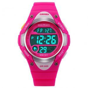 Kinderhorloge Chrono - Alarm – Digitaal Horloge – Roze