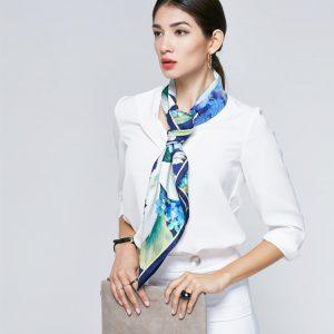 Zijden Sjaal - Damessjaal - Zachte sjaal - sjaal zijde