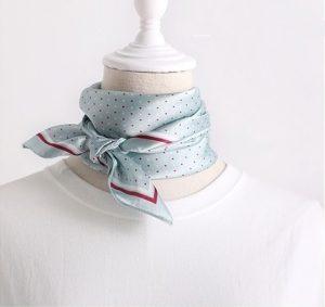 Halsdoek Dames - Sjaaltje - Lichtblauw