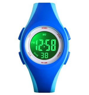 Kinderhorloge - Stopwatch - Waterdicht - Digital Watch - Blauw