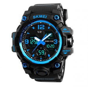 Sporthorloge - Dual Time - Chronograaf - Blue