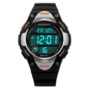 Kinderhorloge Chrono - Alarm – Digitaal Horloge – Zilver Look
