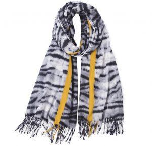 Sjaal Zebra print - Dames Sjaal - 185cm
