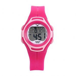Kinderhorloge Stopwatch - LED Display - Geschenkdoosje - Roze