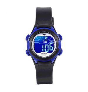 Kinderhorloge Stopwatch - LED Display - Geschenkdoosje - Blauw