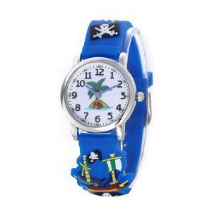 Piratenhorloge – Jongenshorloge – 3D Kids Watch - Giftbox