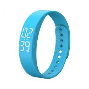 Activity Tracker Kinderen - Smartband - Sporthorloge Kids - Blauw