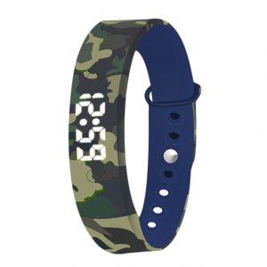 Smartband Kids - Activity Tracker - Sporthorloge Kinderen - Army Green