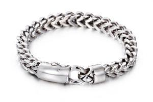 Brede Schakel Armband - Armband Heren - Gepolijst - 61 Gram