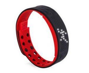 Activity Tracker - Smartband - Smartwatch - Zwart/Rood