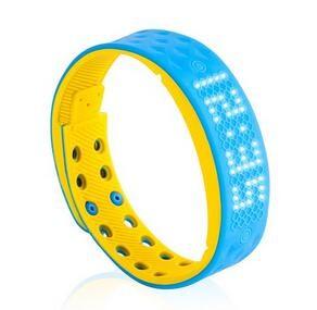 Activity Tracker - Smartband - Smartwatch - Blauw/Geel
