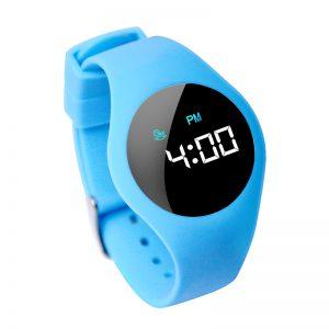 Kinderhorloge - Countdown Timer - Touch Screen - Lichtblauw
