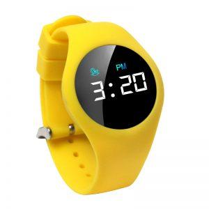 Kinderhorloge - Countdown Timer - Touch Screen - Geel